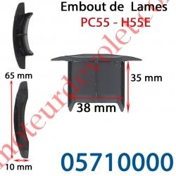 Embout de lames Pc55 & H55E à Enfoncer Sans Fraiser