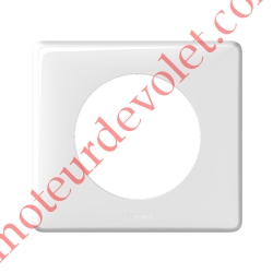 Plaque Blanche pour Mécanisme Legrand Céliane (1 Poste Seul)