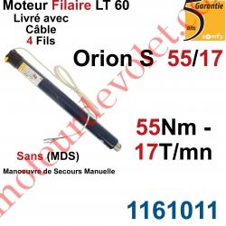 Moteur Somfy Orion S 55/17 LT 60