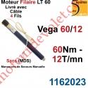 Moteur Somfy Véga 60/12 LT 60