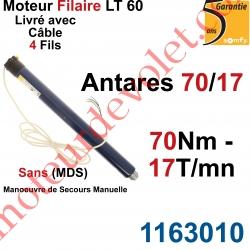 Moteur Somfy Antares 70/17 LT 60