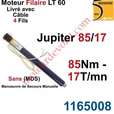 Moteur Somfy Jupiter 85/17 LT 60