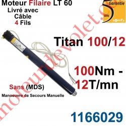 Moteur Somfy Titan 100/12 LT 60