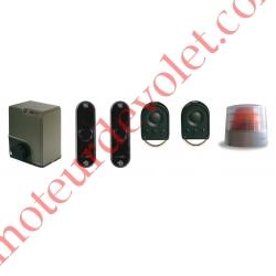 Elixo 500Rts Pack Conf24v 1Mot,1Arm&1Réc Int, 2ém 4cx,1J Cel 1Feu Av Ant Ss Crém