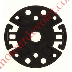 Support Moteur TM 45, 2 trous entraxes 44 mm et 60 mm, 4 trous entraxes 56,5 x 18,5 mm