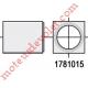 Support Embout à Tourillon ø 8 mm pour Coussinet Carré de 16 mm