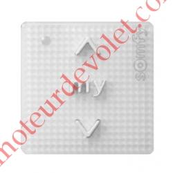 Commande Générale Smoove Uno IB+ Pure (Blanc) Sensitif Sans Cadre