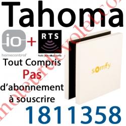 Boîtier Tahoma Somfy io et Rts Pack Liberté à Connecter à Internet
