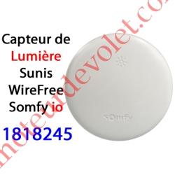 Capteur de Lumière Sunis WireFree io Blanc Auton av 2 pil 1,5 v AA