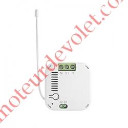 Micro Récepteur d'éclairage à Variation Zwave Puissance Maxi 200 w ip20