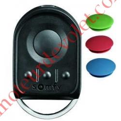 Emetteur Nomade KeyGo 4 Canaux Rts Coloris Noir