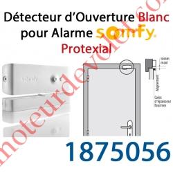Détecteur d'Ouverture Nouveau Design Coloris Blanc pour Alarme Protexial