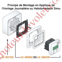 Horloge & Inverseur Hebdomadaire Individuel Filaire