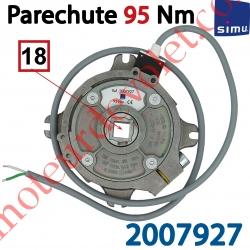 Parechute Sécurité Réarmable 95 Nm Entraîn Carré 18 mm Av Cont Sécu Câb Lg 1m Ss Viss