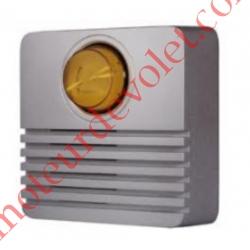 Sirène Extérieure 108 dB Avec Flash pour Alarme Protexial
