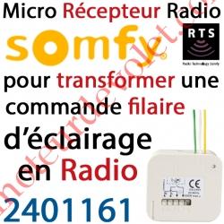 Micro Récepteur éclairage intérieur Rts Puissance Maxi 500 w