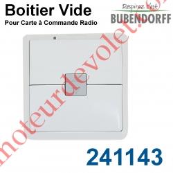 Boitier Vide pour Emetteur Mural Bubendorff CRG ASS