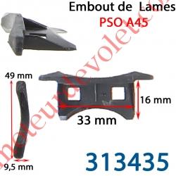 Embout de Lames Pso A45 - A45BE - A45D