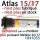 Moteur Atlas 15/17 LT 50 sans Mds