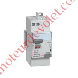 Interrupteur Différentiel Bipolaire DX³-ID 40A 30mA