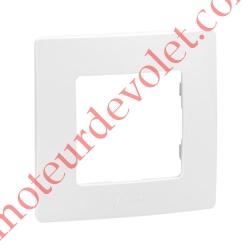 Plaque Blanche pour Mécanisme Legrand Niloé (1 Poste Seul)