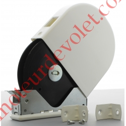 Enrouleur Pivotant de Cordon Blanc ø 4,3 mm pour Démultiplicateur Sans Cordon