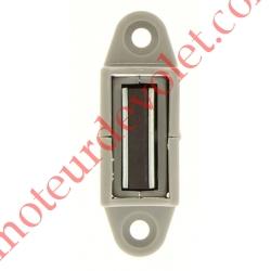 Bloqueur Magnétique Réglable en Profondeur de 28 à 48 mm pour To Coloris Gris