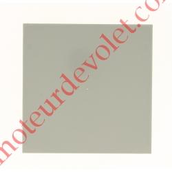 Embout de Coffre Modulo Alu de 180 Pan Droit en Abs Coloris Alu Métallisé