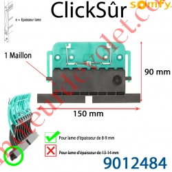 Verrou Automatique Clicksûr de 1 Maillon pour lame 8-9 mm