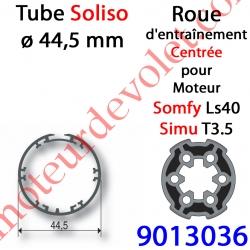 Roue pour Moteur LS 40 ou T 3.5 dans Tube Soliso ø 44,5