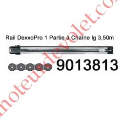 Rail Monobloc à Chaîne 30 000 Cycles lg 3,50m pour Dexxo Pro