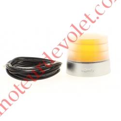 Feu Orange Master Pro 24v Fixe Antenne io 868-870MHz Intégrée Culot E14 25w Etanche ip54