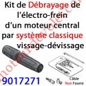 Kit de Débrayage Classique à Visser-Dévisser Sans Câble pour Moteur Central