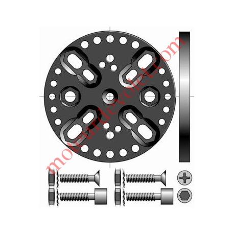 Support Csi Entr'axes Trd 44, 48 & 60 mm Orien par 13° Sans Pion Cple Max 120 Nm