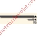Tringle d'attaque Hexa 7 mm Lg 200 mm