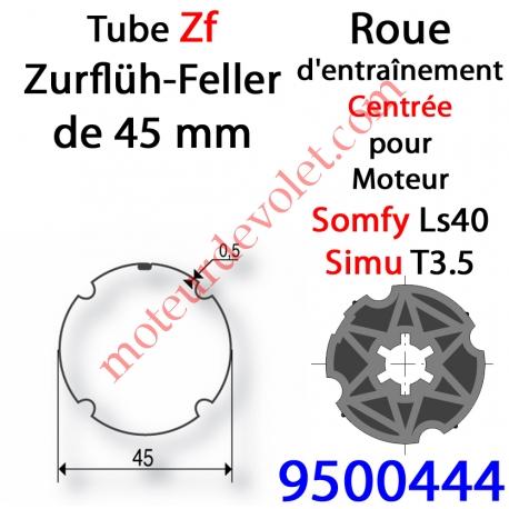 Roue ZF 45 pour LS 40 ou T3.5