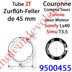 Couronne ZF 45 pour LS 40 ou T 3.5