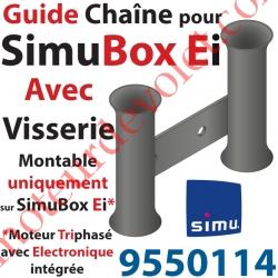 Guide Chaîne Avec Vis pour SimuBox Version Ei