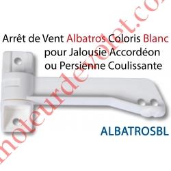 Arrêt de Vent en Ouverture Albatros en Pvc Blanc