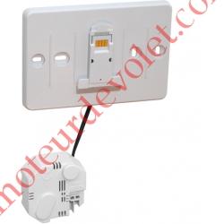 Support Mural à Encastrer pour Thermostat EvoTouch à Ecran Tactile