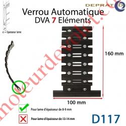 Verrou Automatique Dva 7 éléments pour lames 8-9 mm