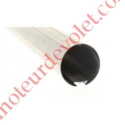 Tube Deprat 62 à Queue d'Aronde en 6/10 Galvanisé Z soit µ de Zinc, le ml