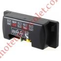 Récepteur Mini 12-24 v ca/cc 2 canaux 433,92MHz Rolling Code