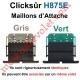 Verrou Automatique Clicksûr de 2 Maillons + Fil pour Lame 8-9 mm d'épaisseur