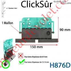 Verrou Automatique Clicksûr de 1 Maillon + Fil pour Lame 13-14 mm d'épaisseur