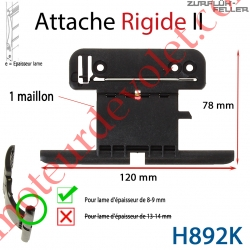 Attache Rigide II de 1 Maillon + Fil pour Lame 8-9 mm