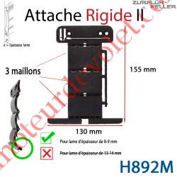 Attache Rigide II de 3 Maillons