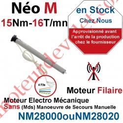 Moteur Nice Filaire Néo M 15/16 M 50 sans Mds