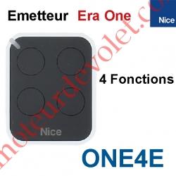 Emetteur Era One 4 Fonctions 433,92MHz Rolling Code