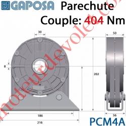 Parechute de Sécurité Réarmable 258 Nm ø 25 mm Câble lg 1m Moment d'Arrêt 978 Nm
